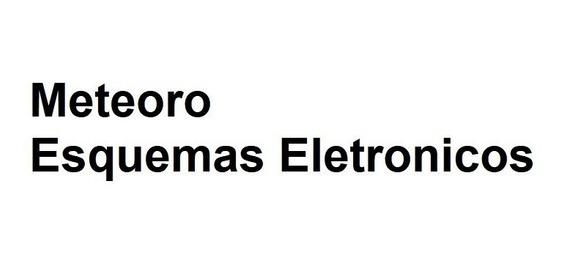 Meteoro - Esquemas Eletronicos
