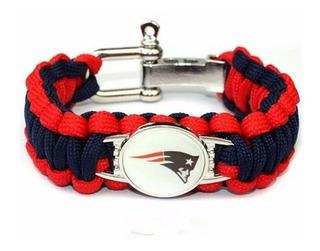 Brazalete Pulsera Patriotas Nfl New England Patriots +envio