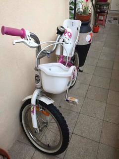 Bicicleta Aurorita Princesa Rodado 12.