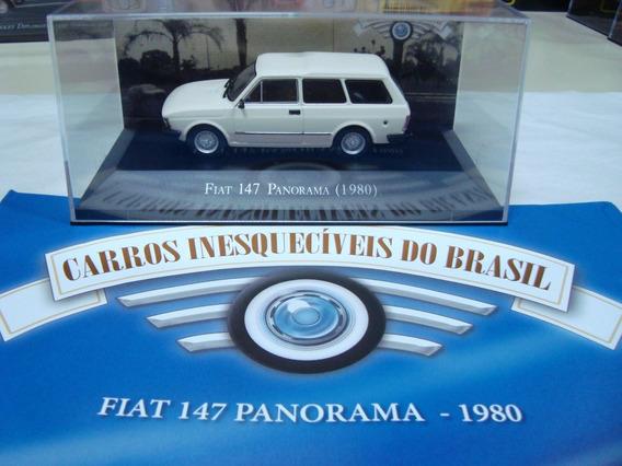 Miniatura Carros Inesquecíveis Do Brasil Panorama 1980 1/43