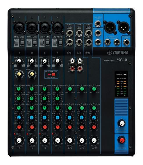 Mesa De Som Yamaha Mg10 | 110v | Original | Garantia | Nfe
