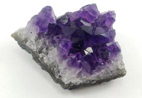 Ametista Drusa Bruta Pedra -semi Preciosa 6 A 7 Cm - 135 Gr