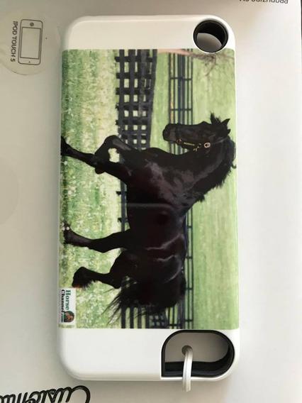 Capa Capinha Case De Cavalo Para iPod Touch 5 Geração