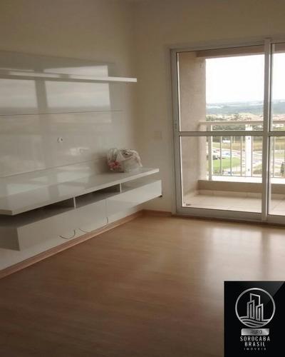 Apartamento Com 2 Dormitórios Para Alugar, 54 M² Por R$ 1.100/mês - Condomínio Vista Garden - Sorocaba/sp - Ap00215 - 67807963