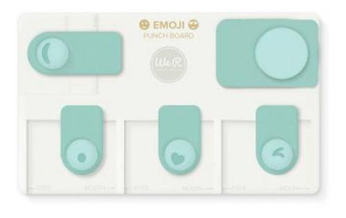 Imagem 1 de 2 de We R - Ferramenta Para Cortar Emojis - Emoji Punch Board - (