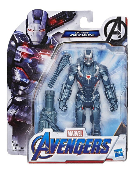 Figura War Machine Avengers Endgame End Game Hasbro Cuantico