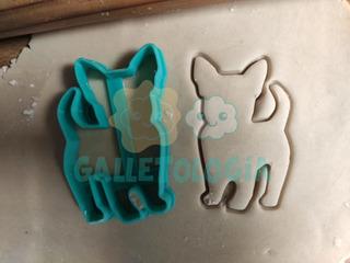 Cortador De Galletas De Perro Chihuahua 8cm, Mascota, Can