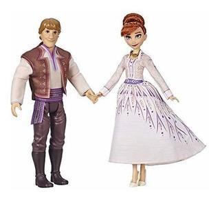 Disney Frozen Anna Y Kristoff Fashion Dolls 2 Pack, Atuendos