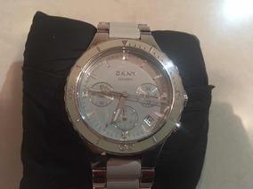 Relógio Donna Karan Ny (dkny) Ny8505 - Cerâmica