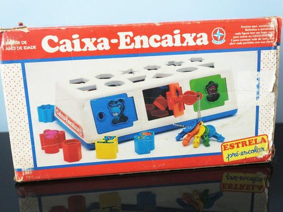 Caixa - Encaixa Da Estrela Com Caixa - Completo Jogo Bebê