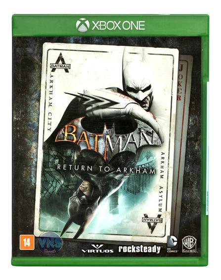 Batman Return To Arkham - Xbox One - Míd Física Novo Lacrado