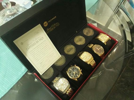 Coleção Exclusiva De Luxo Capitães Da Taça Technos