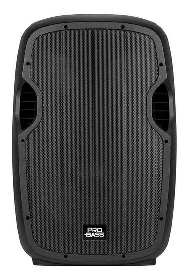 Caixa De Som Ativa 15 Polegadas Probass Bluetooth 800w