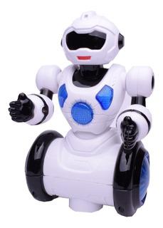 Robot Con Luz Sonido Y Movimiento Guardian El Duende Azul