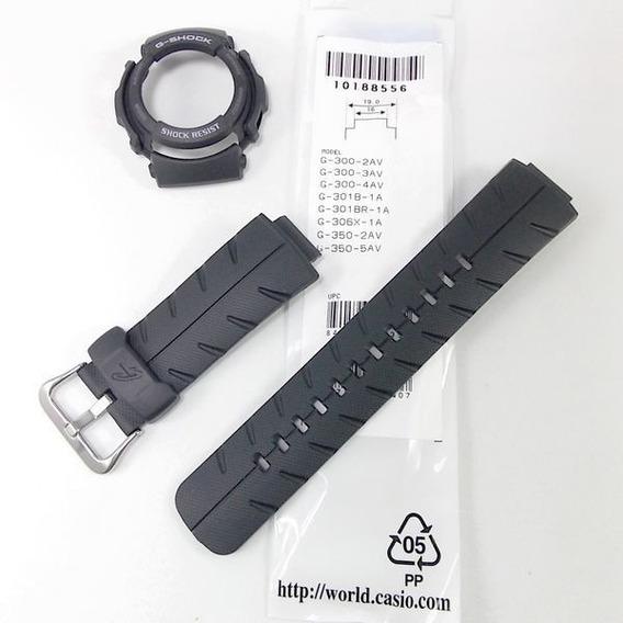 Pulseira + Bezel Casio G-shock G-314 G-315 G-300-3 G-300-4