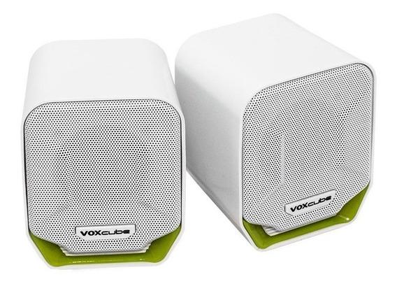 Caixa de som Infokit Voxcube VC-D360 portátil Branco/Verde