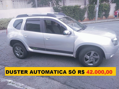 Renault Duster 2.0 Automatica Ficha No Whatsap