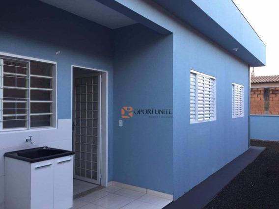 Casa À Venda Com 2 Quartos, Pedra Branca, Ribeirão Preto - Ca0909