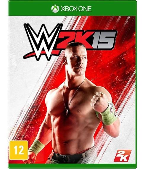 Wwe 2k15 Xbox One Mídia Física Novo Lacrado