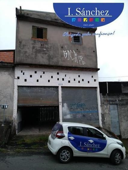 Salão Comercial Para Locação Em Itaquaquecetuba, Jardim Amaral, 1 Banheiro - 191109c_1-1277109
