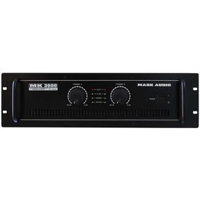 Amplificador De Potência Mark Audio Mk3600 600w - Mk 3600