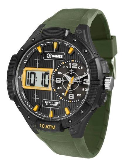 Relógio Masculino X Games Xmppa214 Bxex Big Case Anadigi