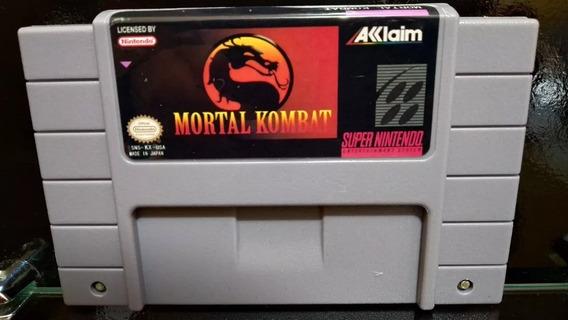 Fita / Cartucho Mortal Kombat Super Nintendo Pronta Entrega