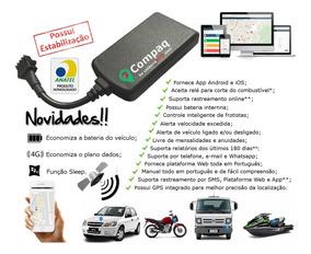 Kit Com 2 Rastreadores Bloqueador Gps Veicular Compaq 2019