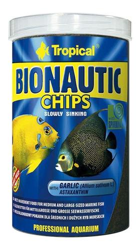 Imagem 1 de 1 de Ração Tropical Bionautic Chips 130g Peixes Marinhos Premium