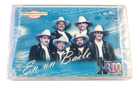 Conjunto Rio Grande En Un Baile Cassette Nuevo Astro Records