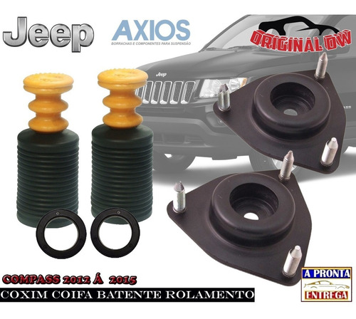 Coxim Coifa Batente Rolamento Compass 2012 Original Axios