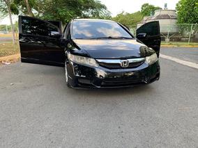 Honda Civic Negro 2010 En Muy Buenas Condiciones