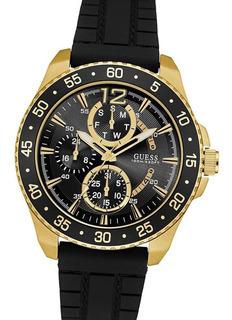 Reloj Guess W0798g3 Multifuncion Acero 10 Atm Watch Fan