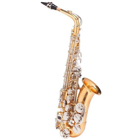 Saxofone Alto Wasm49 Eb Duplo Chaves Niqueladas - Michael