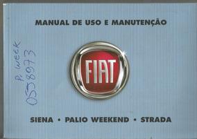 Manual Proprietá Strada Trekking 2012 Kit Completo C/bolsinh