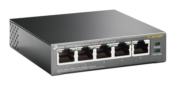 Switch Tp-link Tl-sg1005p 5p