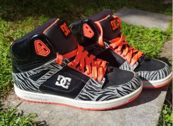 Zapatillas Botitas Dc Shoes Mujer
