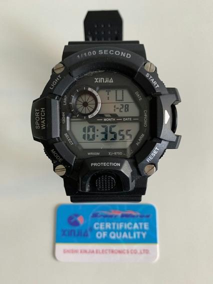 Relógio Xinja Xj 875 Dm Masculino Esportivo Shoch Militar