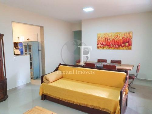 Apartamento Com 3 Dormitórios À Venda, 100 M² Por R$ 350.000,00 - Enseada - Guarujá/sp - Ap10185