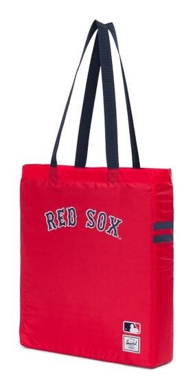 Bolso Herschel Plegable Tote Mlb Boston Red Sox