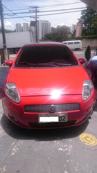 Fiat Punto 2012 Essence 1.6 16v Flex Vermelho 5p