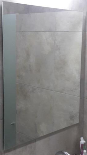 Espejo Sin Marco 60x40 Ideal Baños Listo Para Colgar Calidad
