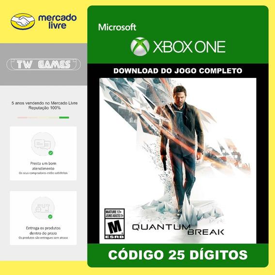 Quantum Break Codigo 25 Digitos Microsoft Xbox One