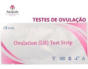 5 Testes De Ovulação + 1 Gravidez - Frete Fixo
