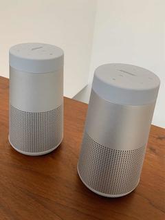 2 Altavoces Bosé Bluetooth Soundlink Revolve Emparejables