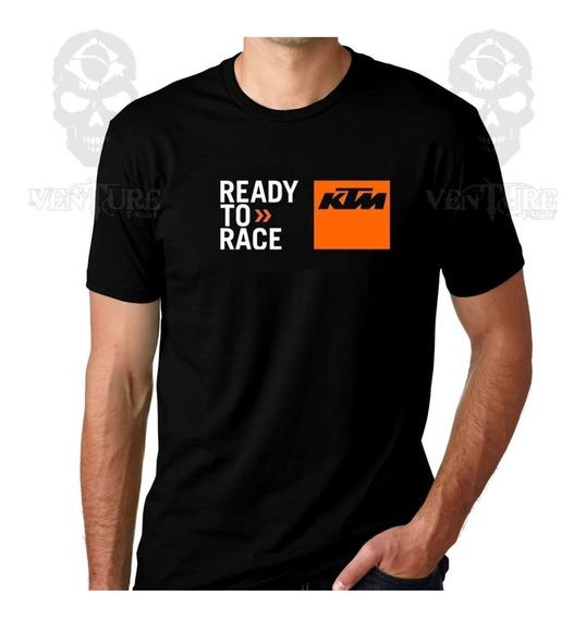 Camiseta Moto Ktm Duke Algodão