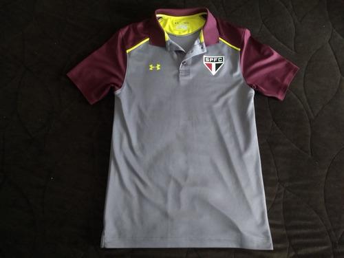 Raridade - Camisa Polo Oficial São Paulo Under Armour Spfc