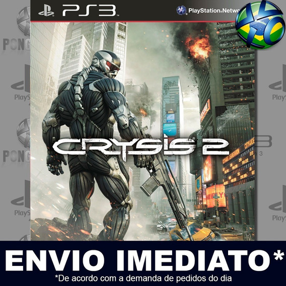 Crysis 2 Ps3 Envio Digital Psn Promoção Pronta Entrega