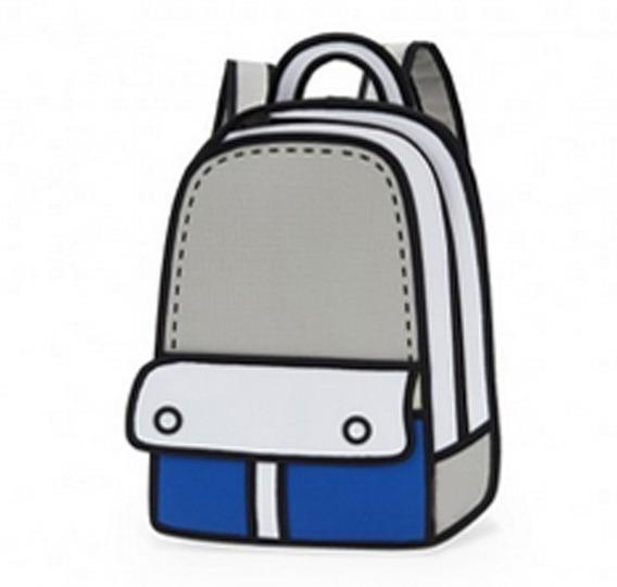 Mochila Bolso Diseño 2d 3d Cartoonbag Backpack Importada 7