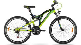 Bicicleta Mtb 26 Aurora 600dsx Doble Suspensión Excelente